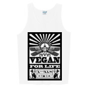 Vegan For Life Ancient Egyptian Inspired Men's Singlet\Tank Top