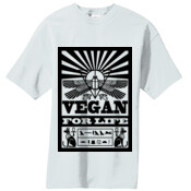 Vegan For Life Ancient Egyptian Inspired Men's Tshirt